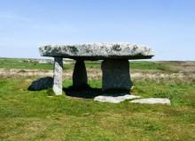 Megalithkultur und ein prähistorisches Dorf in West Cornwall
