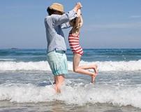 Familienurlaub: Draußen in Cornwall mit den Kindern