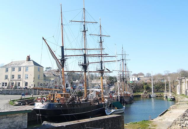 Charlestown Hafen