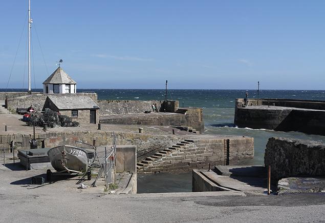 Charlestown Hafen, Cornwall